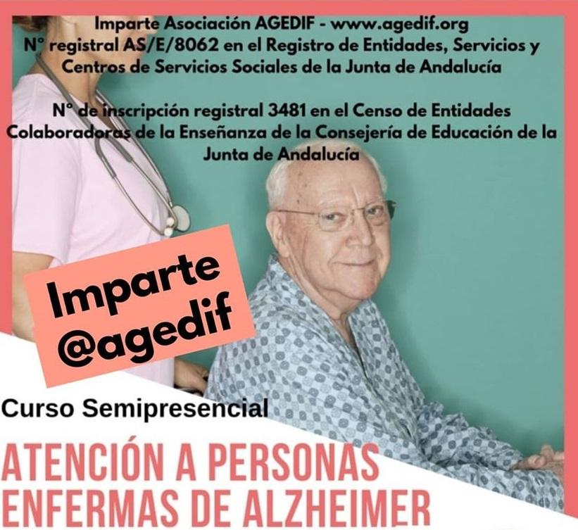 ATENCIÓN A PERSONAS ENFERMAS DE ALZHEIMER